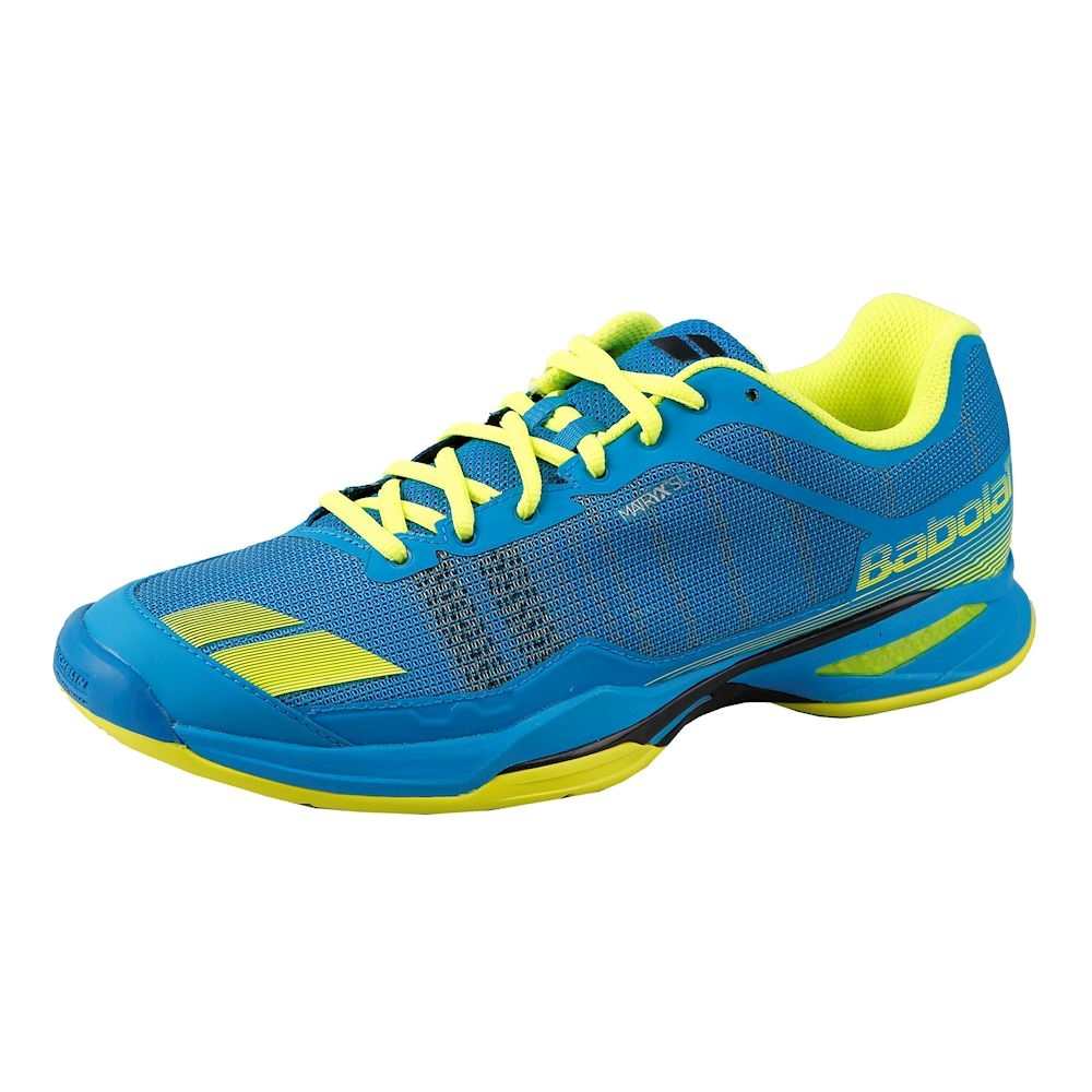 8bd3243178900 Babolat Jet Team All Court Men's Tennis Shoes Blue/Yellow