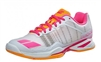 Babolat Jet Team All Court Women's Tennis Shoes White/Orange/Pink