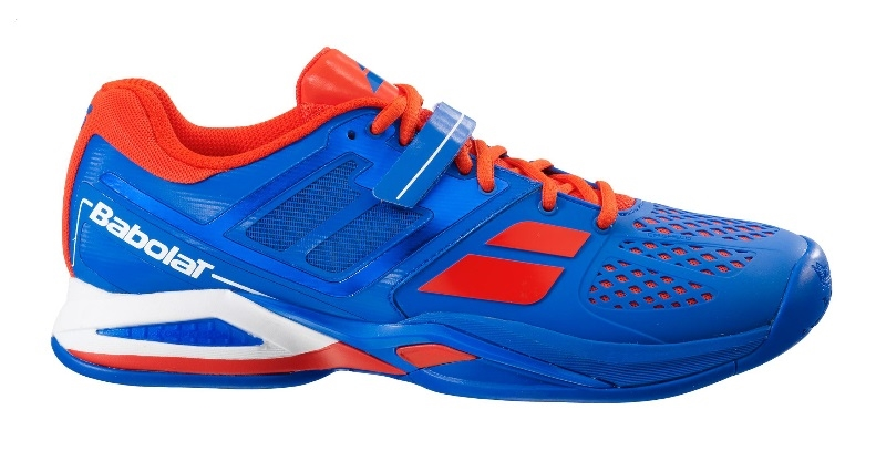 Babolat Tennis Shoes >> Babolat Propulse All Court Men S Wider Tennis Shoes Blue Red