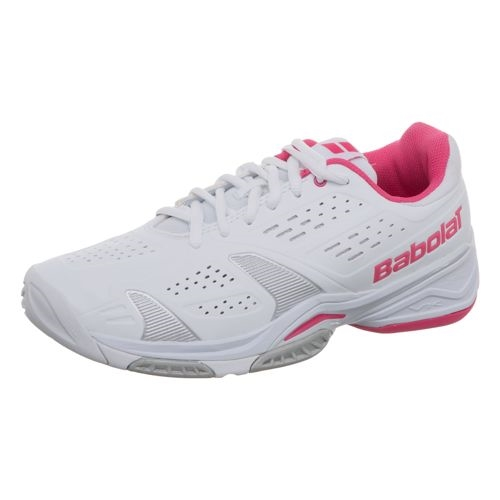 Babolat Sfx Team All Court Women S Tennis Shoes White Pink