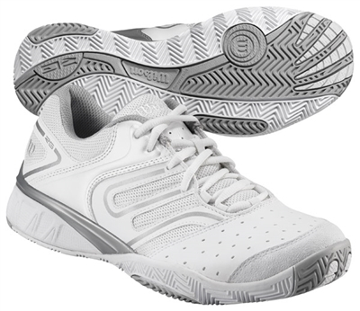 Wilson W Tour Construkt Wome's Tennis Shoes White/Silver