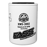 FASS FUEL SYSTEMS XWS-3002 EXTREME WATER SEPARATOR