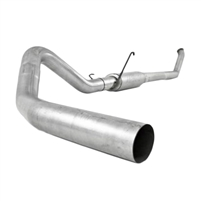 "MBRP 4"" Turbo Back Exhaust w/ Muffler 07.5-09 Ram 6.7L - Aluminized"