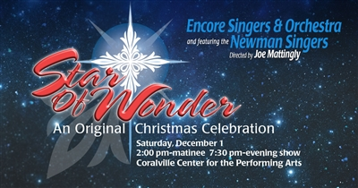 Newman Singers Star of Wonder Christmas Show 2018