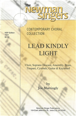 LEAD KINDLY LIGHT - choral, keyboard, guitar