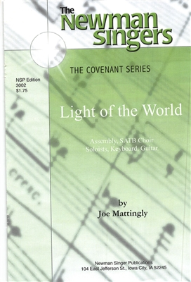 LIGHT OF THE WORLD - choral, keyboard, guitar