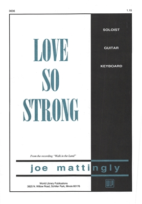 LOVE SO STRONG - solo / duet, keyboard, guitar