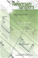PSALM 100 - SHOUT, SHOUT! - choral, keyboard, guitar