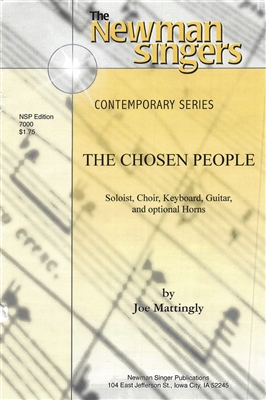 THE CHOSEN PEOPLE - choral, keyboard, guitar