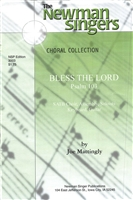 BLESS THE LORD - choral, keyboard, guitar