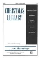 CHRISTMAS LULLABY - choral, keyboard, guitar