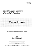 COME HOME - choral, keyboard, guitar