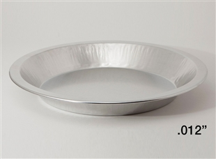 "9"" Medium Depth Heavy Aluminum Pie Pans"