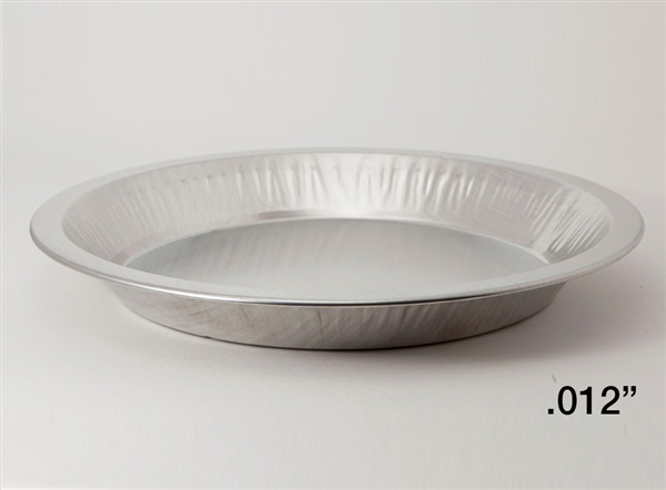 "10"" Medium Depth Heavy Aluminum Pie Pans"