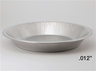 "9"" Deep Heavy Aluminum Pie Pans"