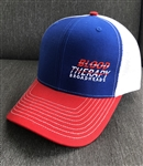 Blood Therapy Red, White and Blue Mesh Back Hat