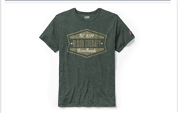 Blood Therapy Broadheads T-shirt - Heather Hunter Green