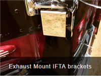 S/S EXHAUST MOUNT IFTA BRACKET