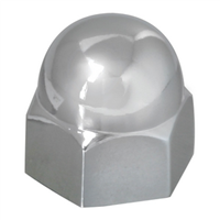 CHROME ZINC NUT COVER