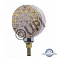 "4"" CLEAR LENS DOUBLE FACE LED"