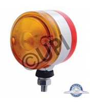 "3"" DOUBLE FACE LED AMBER/RED"