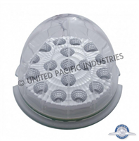 17 LED AUX CAB LIGHT CLEAR RED