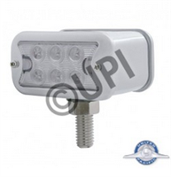 T MOUNT 2 FUNCT RECT LED AMB/RED