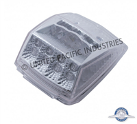 REFLECTOR CAB LIGHT LED AMBER/CLEAR LENS