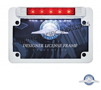 LED MOTORCYCLE LIC FRAME