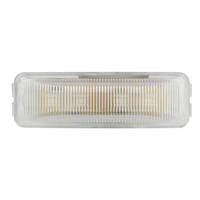 RECT. AMBER/CLEAR 4 LED LIGHT