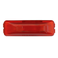 RECT RED/RED 4 LED LIGHT