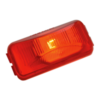 SMALL RECTANGULAR LED RED