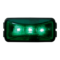SM RECT. LED GREEN/GREEN