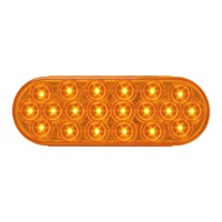 OVAL LED LIGHT AMBER