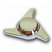 CHROME PLASTIC SPINNER