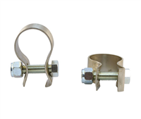 S/S CLAMP FOR POST MOUNT TUBE