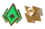 BSG Enlisted Rank Pins (set of 2) - Master Chief Petty Officer (CF)