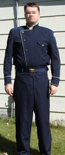 BSG Service Blues Junior Officer Uniform
