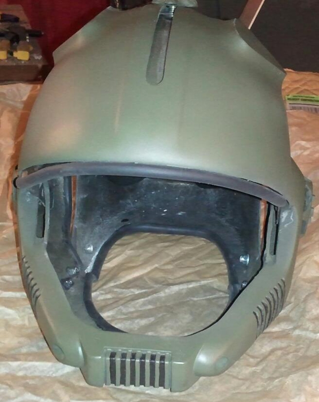 S:AAB Finished Fiberglass Hostile Environment Helmet