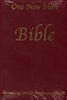One New Man Bible Burgundy Imitation Leather