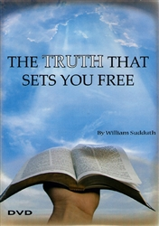 Truth That Sets You Free DVD by Bill Sudduth