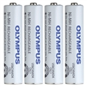 Olympus BR404 (147427) AAA Size 1.2V Nickel-Metal Hydride Rechargeable Batteries - 4 Pack