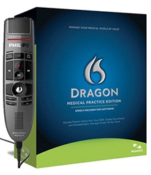 Philips SpeechMike Premium and Dragon Medical Practice Edition