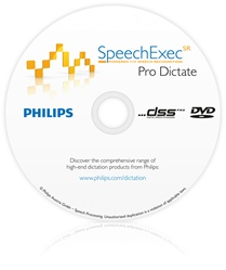 Philips LFH-7255 SpeechExec SR Pro Dictate Software LFH7255