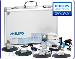 Philips LFH-955 Complete Digital Conference Kit LFH955,with 4 boundary layer microphones