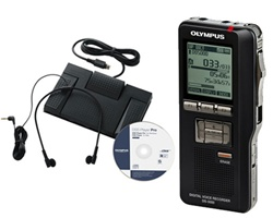 Olympus DS-5000DT Professional Digital Dictation and Transcription Kit