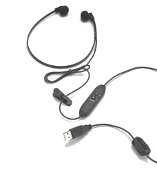 Spectra SP-USB USB transcription Headset SPUSB