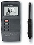 HT-305 / Pocket Size Humidity Meter With Temperature & Dew Point Separate Probe Style