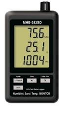 MHB-382SD Humidity, Barometer & Temperature Display with Data Logger