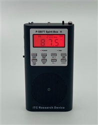 P-SB7T Spirit Box®/  Mini Frequency Sweep Radio ITC Device